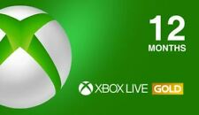 Xbox Live 12 Month GOLD Subscription Card for the Xbox Live Global Key Card Xbox