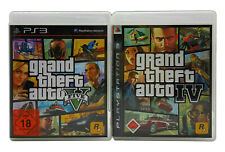 GTA IV + V Playstation 3 Spiele Paket Grand Theft Auto 4 5 Komplett Deutsch PS3