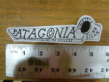 Patagonia Climb Clean Piton Stickers Decals