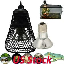 Us Uvb/Uva Infrared Ceramic Heating Light Safety Cage Pet Reptile Bulb Holder