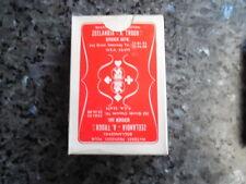 ancien jeu de carte publicitaire zeelandia  matiere premiere pour boulangerie