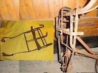 Ancien porte bagages avant,guidon de vélo ancien,peugeot,terrot,alcyon,porteur,…