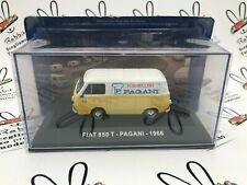 "DIE CAST "" FIAT 850 T - PAGANI - 1966 "" PUBBLICITARI NEW 1/43"