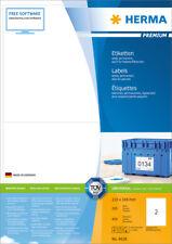 Etiketten 210 x 148 mm, auch für Pakete/Päckchen, Menge nach Auswahl, HERMA 4628