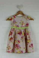 BAKER By TED BAKER Girls Size 4 Pale Pink Beautiful Flowy Floral Party Dress