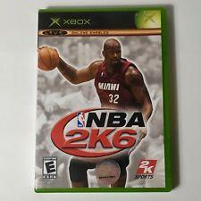 NBA 2K6 Xbox Great condition (No Manual)