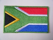 SOUTH AFRICA PATCH Quality Embroidered Iron On Republic Of RSA National Flag NEW