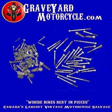 76 CAN-AM MX 125,175,250 NUTS AND BOLTS ENGINE,CASE FRAME,QUALIFIER