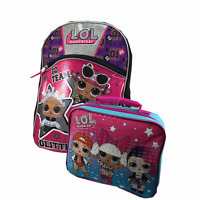 "L.O.L Surprise 16/"" Large Rolling Backpack LOL Rolling Backpack NEW"
