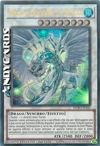 DRAGO POLVERE DI STELLE • (Stardust Dragon) • Ultra R • DUPO IT103 • Yugioh!