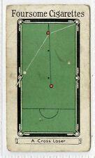 (Gr719-100) Robert Sinclair, Billiards by Willie Smith, First Set #5 1928 G-VG