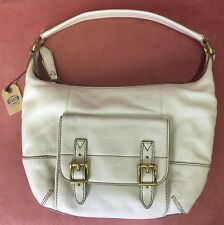 Fossil  handbag TATE SMALL HOBO in bone leather NWT