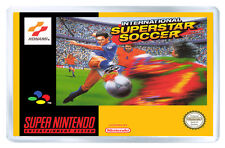 INTERNATIONAL SUPERSTAR SOCCER SNES FRIDGE MAGNET IMAN NEVERA