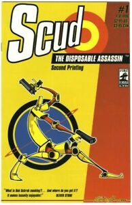 Scud: The Disposable Assassin #1 Second Printing - Fireman Press - February 1996
