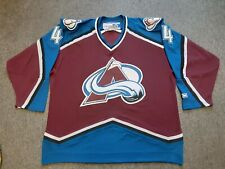 VTG CCM NHL Colorado Avalanche #44 Jordan Leopold Hockey Jersey Shirt X-Large XL
