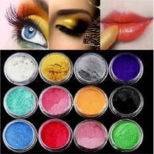 60g Mica Pigment Powder Metal Sparkle Shimmer Paint 12 Colors Grit New Hot