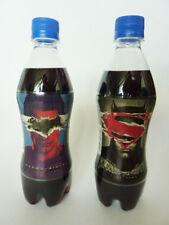 PEPSI STRONG ZERO BATMAN V SUPERMAN 2016 LIMITED EDITION JAPANESE SODA BOTTLES