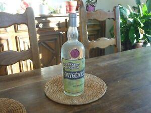 ancienne bouteille elixir apéritif oxygénée   Cusenier