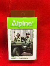 Alpine Miniatures 1/35th US Jeep Passenger & Driver Set, NIP, kit number 35262