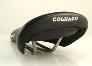 Vintage + Rare Selle BASSANO COLNAGO MASTER C40 Saddle Road Bike (BM)