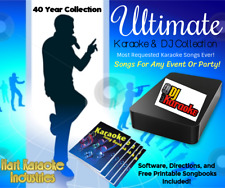 Professional Karaoke Songs and Dj Collection Hard Drive - Lifetime Updates
