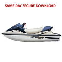 2003 Kawasaki Jet Ski 1100 STX D.I. Service Manual  (Jetski) FAST ACCESS
