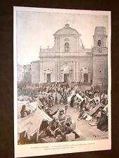 Terremoto in Calabria nel 1905 Reggio Calabria Cattedrale Tropea Pizzo