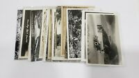 Lot of 20 Vintage real photo postcards RPPC