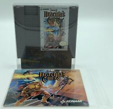 Castlevania III: Dracula's Curse NES Cartridge and Manual only Tested Works