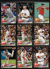 2018 Topps Series 1 & 2 BOSTON RED SOX Complete 21 Card Team Set Sale Betts
