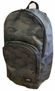 Vans (Alumni Pack) Skate School Backpack Bag Black Camo New NWT Fast Ship❗️