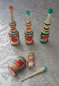 Moroccan Handmade Wooden Kohl Applicator Mascara Surma Bottle