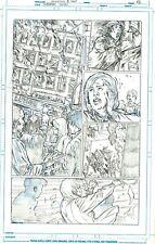 Netho Diaz SUPERMAN Sample Page 1 Original Art