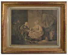 """""""L'enfant puni"""" gravure ancienne époque XIXème"""
