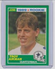 1989 Score TROY AIKMAN RC #270 Dallas Cowboys