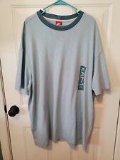 Nike Air Force One Short Sleeve Blue Men's Short Sleeve Shirt 100% Cotton NWT XL