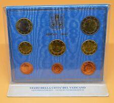 VATICAN 2012 : Livret BU complet 1 cent à 2 euro.