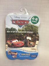 (O) NEW Disney Pixar Cars V Smile Learning Cartridge Math Vocabulary Ages 4-6