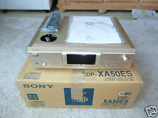 Sony cdp-xa50es high-end CD-Player OVP, champaña, bda&fb, 2j. garantía