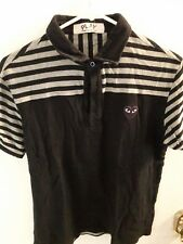 CDG Play Mens Purple Heart Polo SIZE S