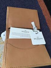SKAGEN from Denmark ERNST international bifold wallet VL3 IN NUBUCK NEW $65