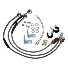 """STAINLESS STEEL Brake Hose Kit w/ 6"""" Lift Jeep Wrangler YJ TJ Cherokee  RT31015"""
