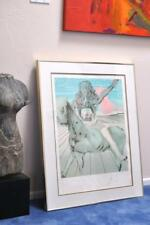 Salvador DALI Hand signed/numbered Lithograph Le Chevalier Tribute Emperor