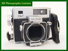 Konica Koni-Omega Rapid Camera Body with 120 Roll Film Back. Stock No U8047