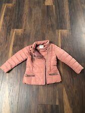 Girls 4-5years Pink Next Coat Jacket New