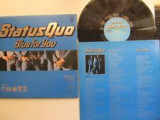 """Blue For You 12"""" Lp Status Quo  Vertigo 9102 006 Super De Lux Gatefold 1976"""