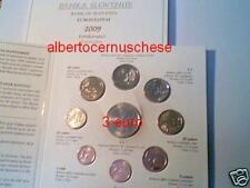2009 SLOVENIA 9 monete 6,88 euro con 3 euro slovenie slovenja Словения Slowenien