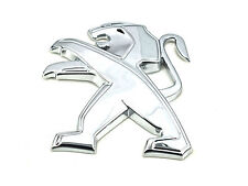 Genuine New Style PEUGEOT BONNET BADGE Lion Emblem For 208 2012-2018 HDi VTi