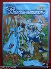 cenerentola cinderella cartone animato mediaset 1980 dvd nuovo sigillato2012