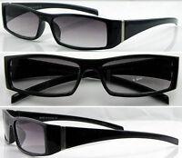 SL428 Reading Sunglasses/Plastic Frame/Grey Lenses/Metal Detail/Simple Designed